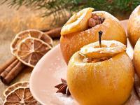 Печеные яблоки польза и вред