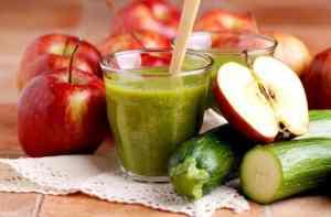 Яблочно-кабачковый сок